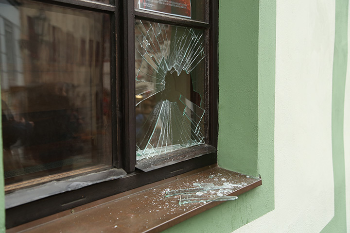 A2B Glass are able to board up broken windows while they are being repaired in Heston.